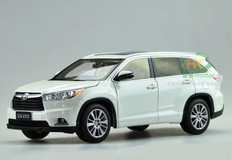 1/18 Dealer Edition 2015 Toyota Highlander (White)