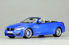 RARE 1/18 Dealer Edition BMW M4 F82 Convertible (Blue)