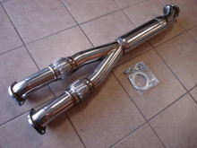 "Nissan Skyline GTR R35 09-17 3"" Turbo Mid Y-Pipe Resonated"