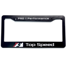 Top Speed Pro-1 USA Spec License Plate Frame