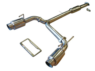 Nissan 350Z Z33 03-08 Mid Resonator Dual Performance Exhaust System