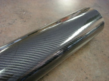 "Real 4D Carbon Fiber Replicate Top Speed Pro-1 Vinyl Wrap Glossy 39"" x 60"" Interior Exterior Wrap"