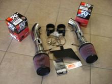 NISSAN 370Z Z34 / INFINITI Q50 Q50S / G37 COUPE / M37 SEDAN VQ37VH Dual Air Intake System + K&N Filters