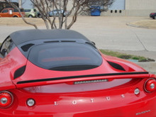 "Lotus EVORA & S 10-14 Rear Trunk Lip Spoiler with 3/4"" Flared Up Edge"
