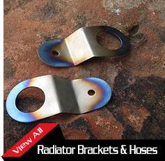 Radiator Brackets and Hoses
