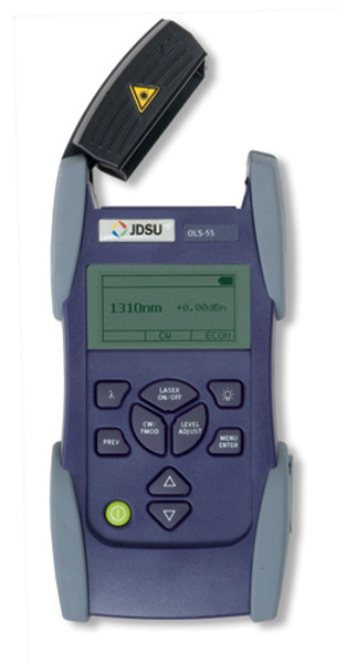 JDSU OLS-55 SmartClass Laser Light Source, SC, 1310/1550/1625