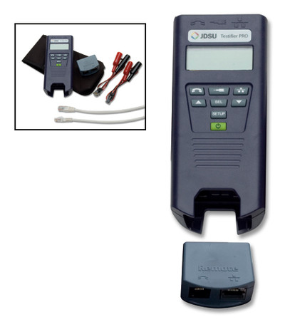JDSU TP650 Testifier Pro Telco/Coax/ Network Cable Tester