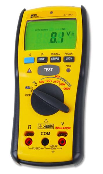 Ideal 61-797 Digital Insulation Tester - Megohmmeter
