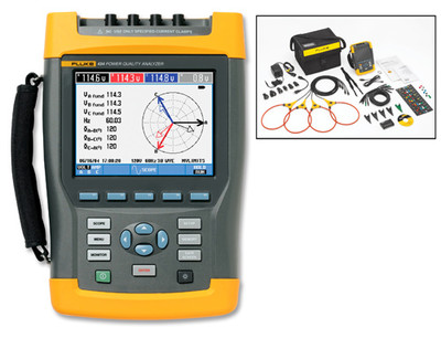 Fluke 434-II Three-Phase Power Quality & Energy Analyzer