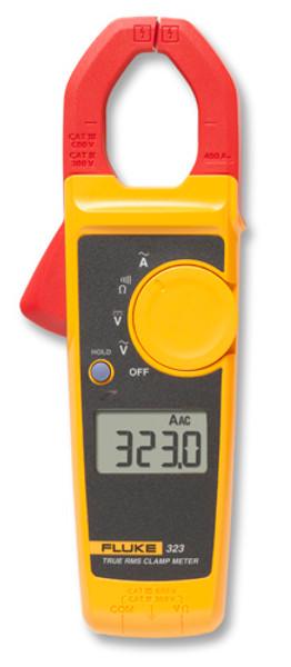 Fluke 323 True-RMS AC Clamp Meter, 400A