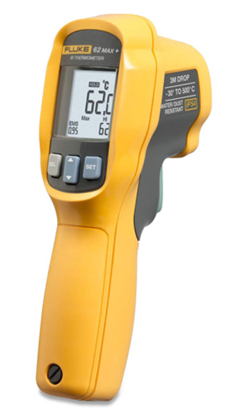 Fluke 62 MAX+ IR / Infrared Thermometer, -22 to 1202F