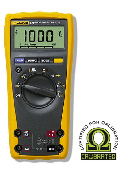 Fluke 179 True RMS Digital Multimeter - Calibrated