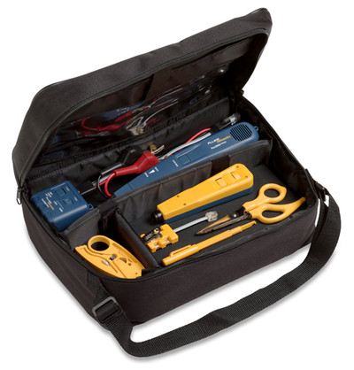 Fluke Networks 11289000 Electrical Contractor Telecom Kit II