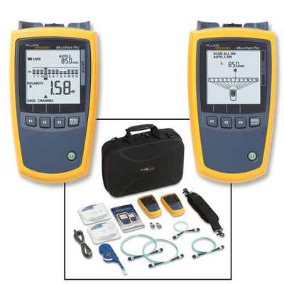 Fluke Networks MFTK1200 MultiFiber Pro MPO Fiber Test Kit
