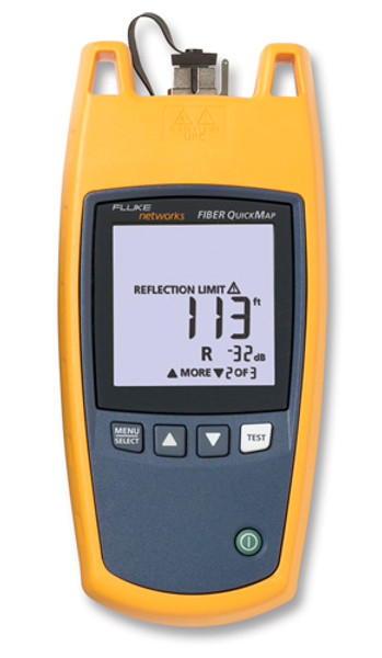 Fluke Networks FQM-MAIN Fiber QuickMap Fiber Troubleshooter
