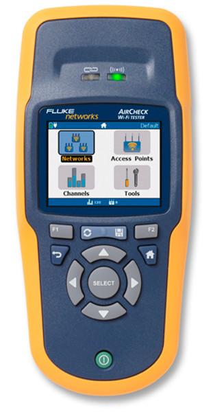 Fluke Networks AirCheck Wireless Tester, WI-FI Network Tester