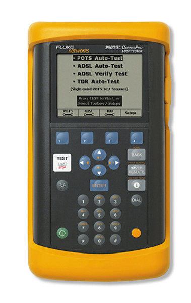 Fluke Networks 990DSLWT CopperPro w/ Wideband and TDR