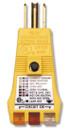 Ideal 61-051 E-Z CHECK Plus GFCI Tester / Receptacle Tester
