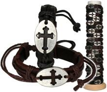 METAL CROSS FASHION BRACELET