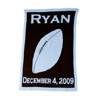Football Personalized Butterscotch Blankee