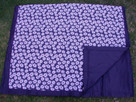Daisy Water Resistant Outdoor Blanket by Tuffo