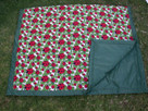 Lady Bug Water Resistant Outdoor Blanket by Tuffo