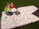 Dot Water Resistant Outdoor Blanket by Tuffo