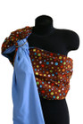 Crazy Dots Reversible Baby Sling