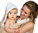 Snuggledry Organic Apron Towel- Oatmeal