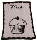 CupCake Personalized Butterscotch Blankee