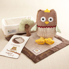 """My Little Night Owl"" Five-Piece Baby Gift Set"