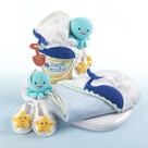 """Beach Buddies"" 3-Piece Bathtime Bucket Gift Set"