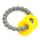 Mulberry Teether-Stormy Grey