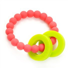 Mulberry Teether-Punchy Pink