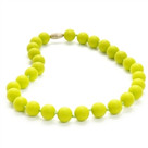 Juniorbeads Jane Jr. Necklace-Chartreuse