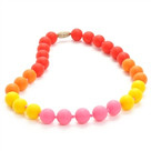 Juniorbeads Bleecker Jr. Necklace-Punchy Pink