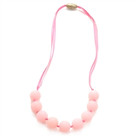 Juniorbeads Madison Jr. Necklace (Glow in the Dark)- Bubble Gum
