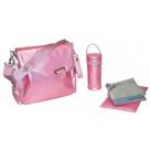 Kalencom Ozz Iridescent Diaper Bag, Patent Pink