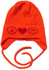 Butterscotch Personalized Combo Knitted Hat with Earflaps