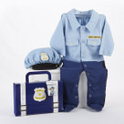 """Big Dreamzzz"" Baby Officer Two-Piece Layette Set"