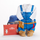 """Big Dreamzzz"" Baby Handyman Two-Piece Layette Set"