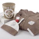 """Big Dreamzzz"" A Pint of PJs Sleep-Time Gift Set, Chocolate"