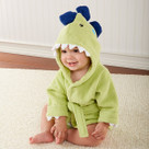 """Splash-a-saurus"" Dinosaur Hooded Spa Robe"