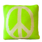 "Butterscotch Peace Knitted Pillow Non-Personalized (15"" x 15"")"