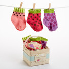 """Fruity Booties"" 3 Pairs of Socks Baby Gift Set"
