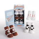 """Little All Star"" 3-Pair of Socks Baby Gift Set"