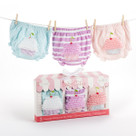 """Baby Cakes"" Set of Three Cupcake Bloomers Baby Gift Set (0-6 months)"