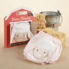 """Farm Fannies"" Down-Home Diaper Cover Baby Girl Gift Set"