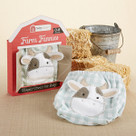 """Farm Fannies"" Down-Home Diaper Cover Baby Boy Gift Set"