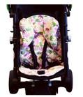 Pink Elephant Stroller Liner & Baby Elephant Ears Headrest Pillow Set
